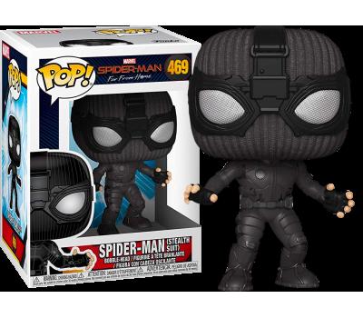 Человек-Паук в стелс-костюме из фильма Человек-паук: Вдали от дома