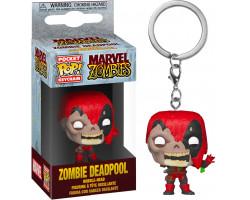 Брелок (Keychain) Дэдпул зомби из комиксов Марвел Зомби