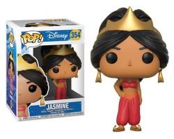 Жасмин в красном из мультфильма Аладдин