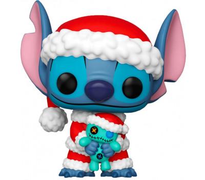 Стич в образе Санта Клауса из линейки Holiday