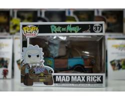 Рик Безумный Макс из сериала Рик и Морти