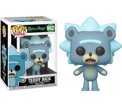 Медвежонок Рик из сериала Рик и Морти