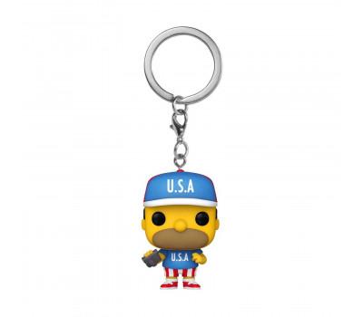 Брелок (Keychain) Гомер Симпсон из мультсериала Симпсоны