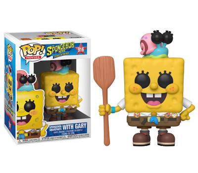 Губка Боб в униформе из мультфильма Губка Боб в бегах