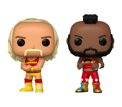 Hulk Hogan & Mr. T (Exc)