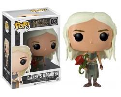 Дейенерис с дракончиком из сериала Игра престолов