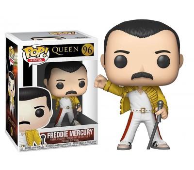 Фредди Меркьюри в желтой куртке (Уэмбли 1986) из группы Queen