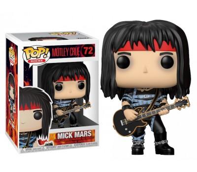 Мик Марс из группы Mötley Crüe