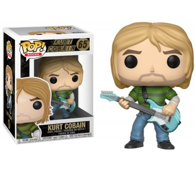 Курт Кобейн из группы Nirvana