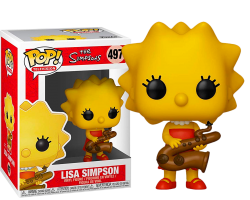 Лиза Симпсон из мультсериала Симпсоны