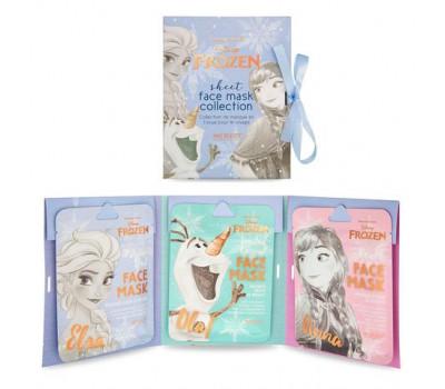 Подарочный набор увлажняющих масок для лица Холодное сердце