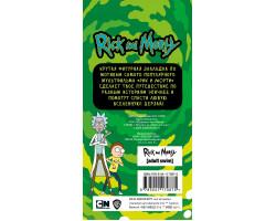 Фигурная магнитная закладка. Рик из мультфильма Рик и Морти