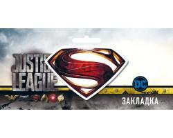 Магнитная закладка Супермен (DC)
