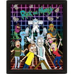 3D Постер - Рик и Морти (версия №2)