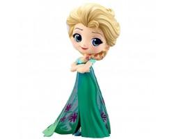 Эльза в зеленом платье от Q Posket
