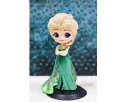Эльза в зеленом платье от Q posket (Альтернативная версия 2)