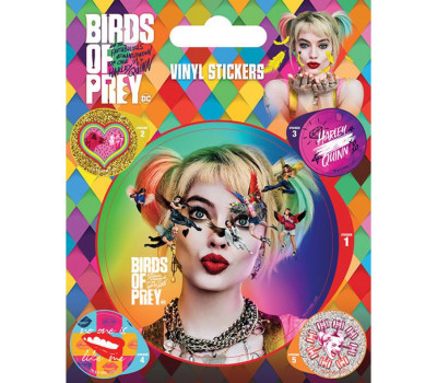 Наклейки Birds Of Prey (Seeing Stars) Vinyl Sticker Pack