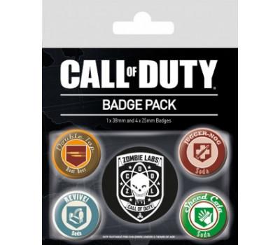 Набор значков Call of Duty