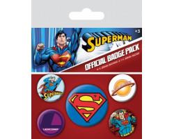 Набор значков Супермен