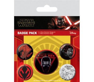 Набор значков Звёздные войны: Скайуокер восход - (Ситх)