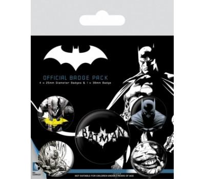 Набор значков Бэтмен (Темнота)