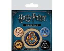 Набор значков Гарри Поттер (Хогвартс)